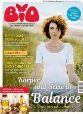 Bio - Gesundheit für Körper, Geist, Seele Abo