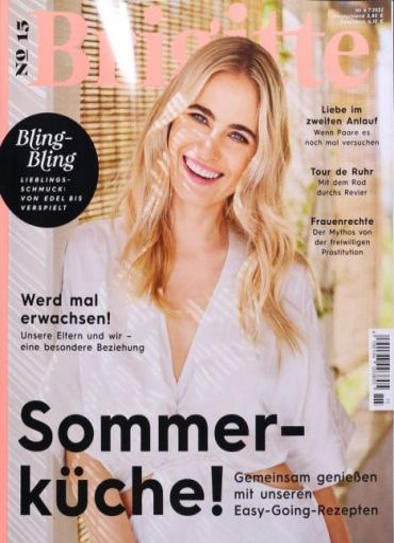 Brigitte im Jahresabo für 89,00 € mit 85 € BestChoice-Gutschein