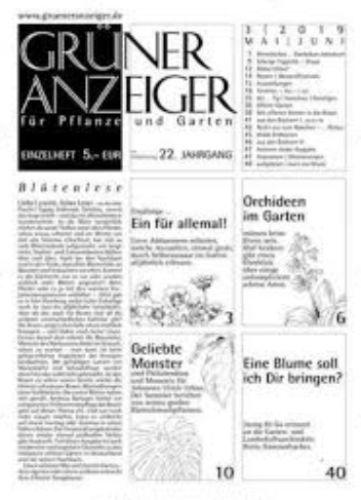 Grüner Anzeiger Abo
