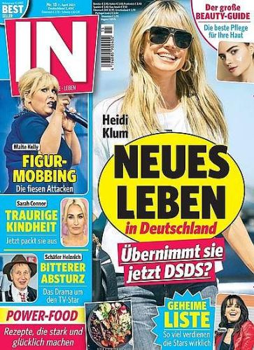 in - Das Star-Magazin Abo