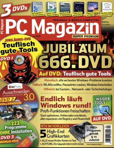 PC Magazin Classic DVD Premium XXL für 39,95€