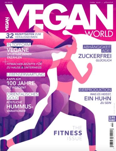 Vegan World Abo