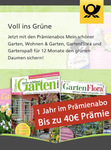 DP Leserservice: Mit erhöhten Prämien und 333 P° on TOP bei Gartenzeitschriften die Gartensaison eröffnen