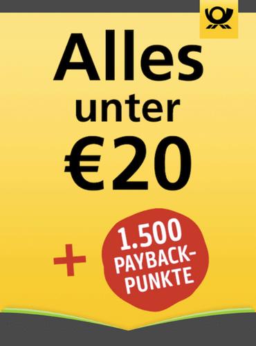 Zeitschriftenabo unter 20,00 € mit 1500 Payback-Punkten als Prämie