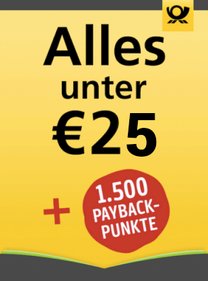 6-Monatsabos unter 25,00 € mit 1500 Payback-Punkten als Prämie