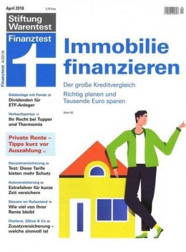 3 Ausgaben des Magazin Finanztest gratis