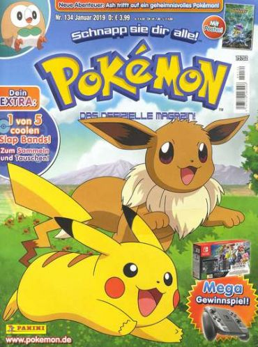 Pokemon Magazin Abo