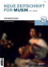 Neue Zeitschrift für Musik Abo