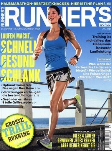 7 Ausgaben Runner's World für 27,45 € mit 20,00 € Gutschein