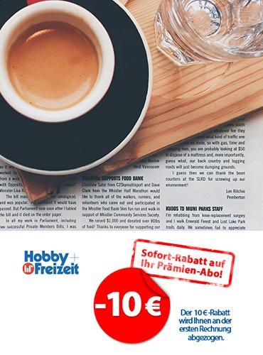15,00 € sparen bei den Kosten eines Abos bei H+F