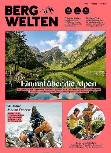 Bergwelten für 44,00€ mit 35,00€ Amazon-Gutschein