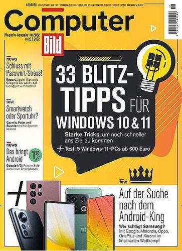Computer Bild DVD für 136,50€ mit 125,00 € Amazon-Gutschein