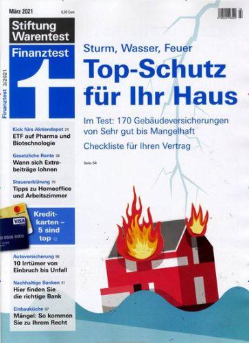 3 Ausgaben Finanztest  + Archiv  2019 und Jahrbuch 2020 für 9,90 €