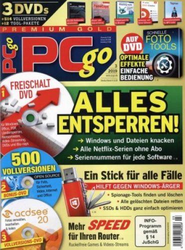 PCgo Premium Gold XXL für 39,95€ statt 105,00 €