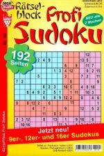 Rätselblock Sudoku Abo