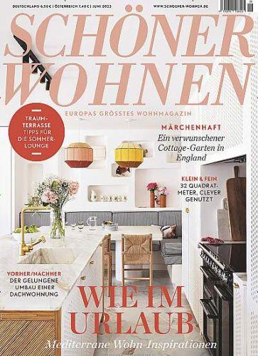 Schöner Wohnen Digitalabo für 41,04€ mit 40,00€ Universal-Gutschein