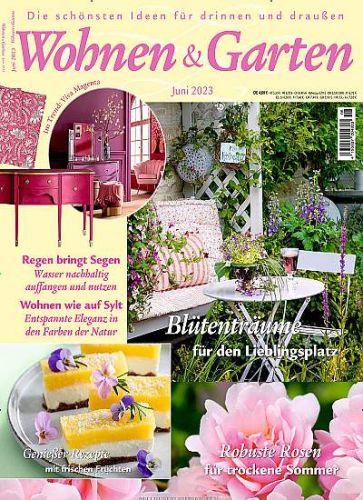 Wohnen & Garten für 24,90€ mit 15,00€ Scheck