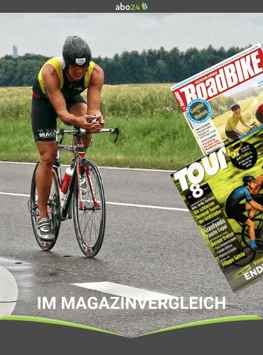 Im Magazin-Vergleich: RoadBIKE und Tour