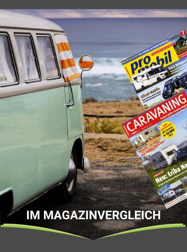 Im Magazin-Vergleich: Promobil und Caravaning