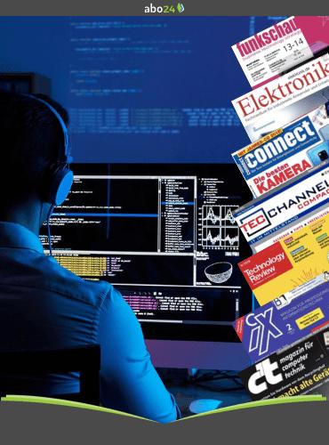 Technik- und Computermagazin Abos anlässlich der abgesagten IFA 2021