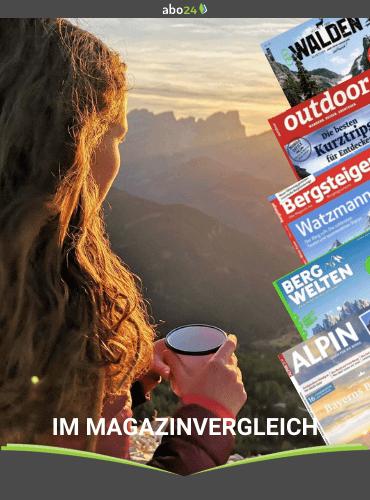 Outdoor Magazine im Vergleich